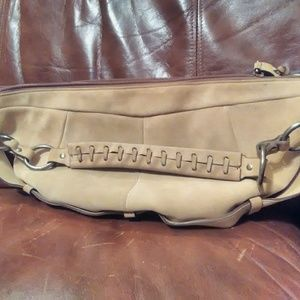 Hobo Style Suede Leather Purse